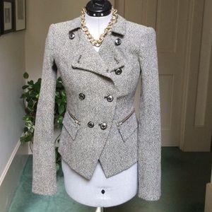 Rachel Zoe tweed jacket size 4